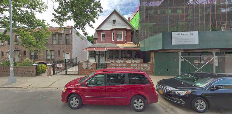 350 Rutland Road in Prospect Lefferts Gardens, Brooklyn
