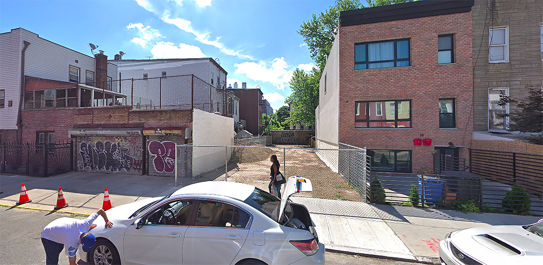 40 Kossuth Place in Bushwick, Brooklyn