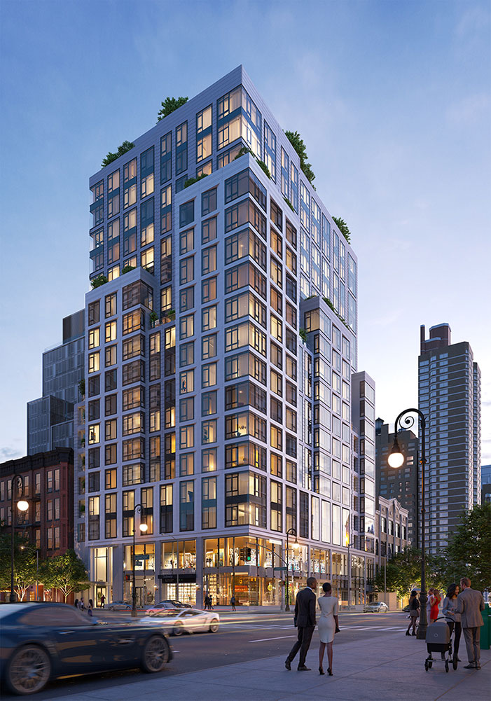 Rendering of The Hayworth at 1289 Lexington Avenue (RODE)