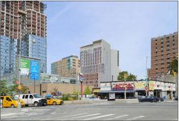 Preliminary rendering of 101 Fleet Place - Leser Group
