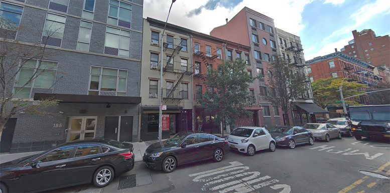 183 Avenue B in the East Village, Manhattan