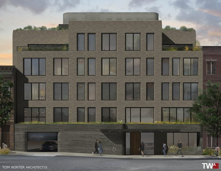 Facade of 276 20th Street, courtesy of Tom Winter Architect