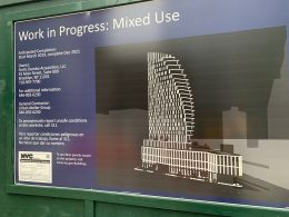 The current rendering for 30 Front Street