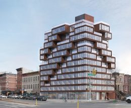 Rendering of 167 Fourth Avenue (formerly 639 Degraw Street) - ODA Architecture