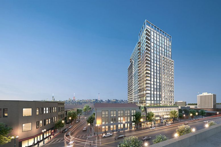 Rendering of 14 LeCount Place - Beyer Blinder Belle Architects