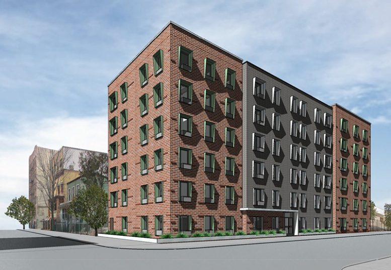 Rendering of 2126 Mapes Avenue - Curtis + Ginsberg Architects