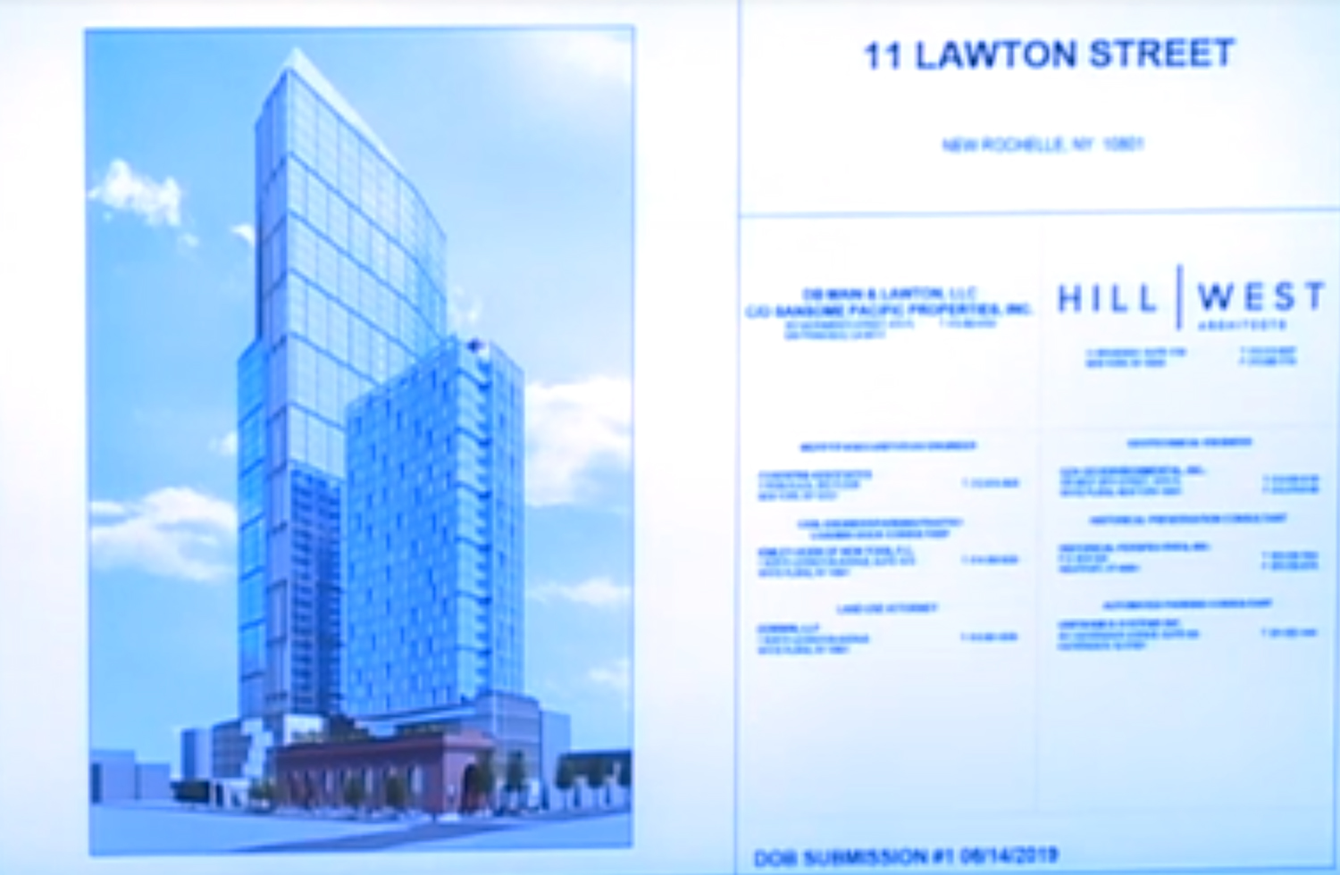 Rendering by Hill West of 11 Lawton Street