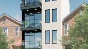 Rendering of 110 East 53rd Street in East Flatbush, Brooklyn -Gerald Caliendo Architect