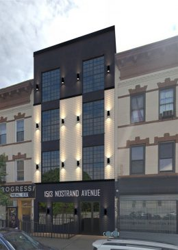 Rendering of 1513 Nostrand Avenue - S&S Architecture