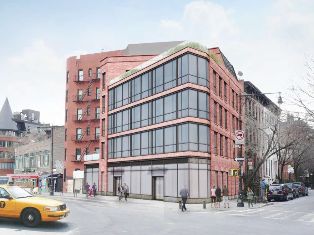 Rendering of 200 West 11th Street - The Jackson Group
