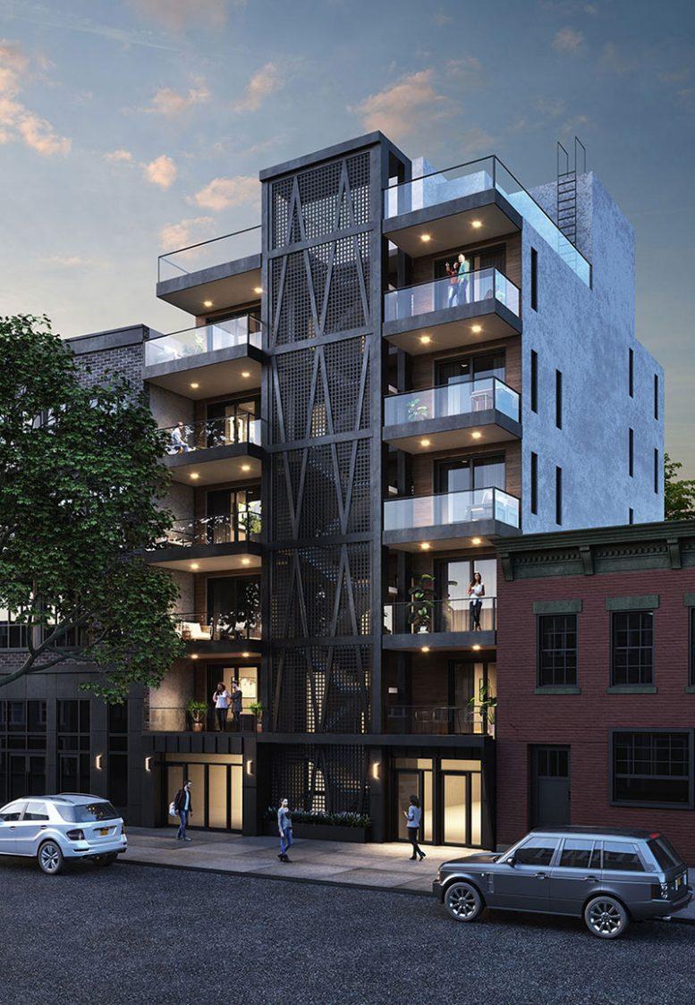 Rendering of 340 Metropolitan Avenue (MORTAR ARCH+DEV)