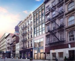 Rendering of 85 Franklin Street - studio MDA