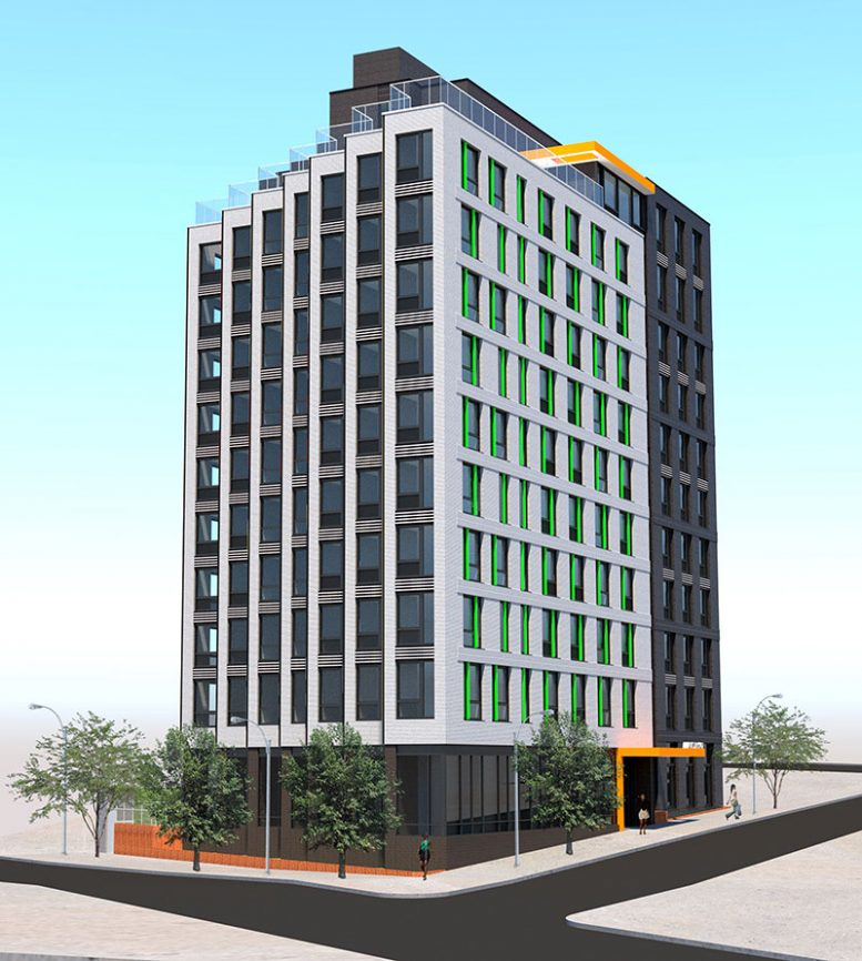 Rendering of Austin 147 (SLCE Architects)