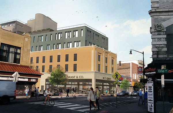 Rendering of 163-165 Newark Avenue - LWDMR Architects