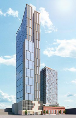 Rendering of 11 Lawton Street - Hill West Architects
