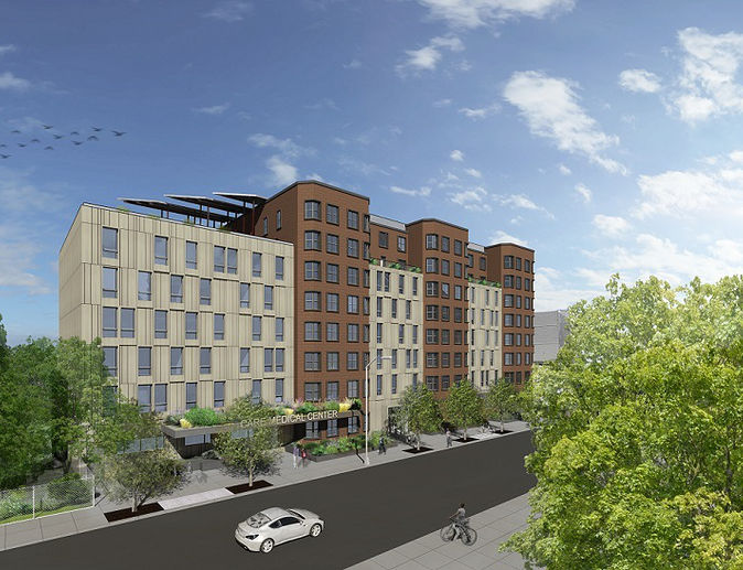 Rendering of 483 Herkimer Street - Urban Architectural Initiative (UAI)