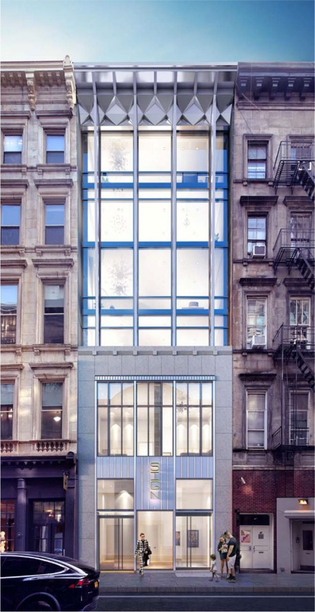 Newly proposed conditions at 85 Franklin Street - studio MDA