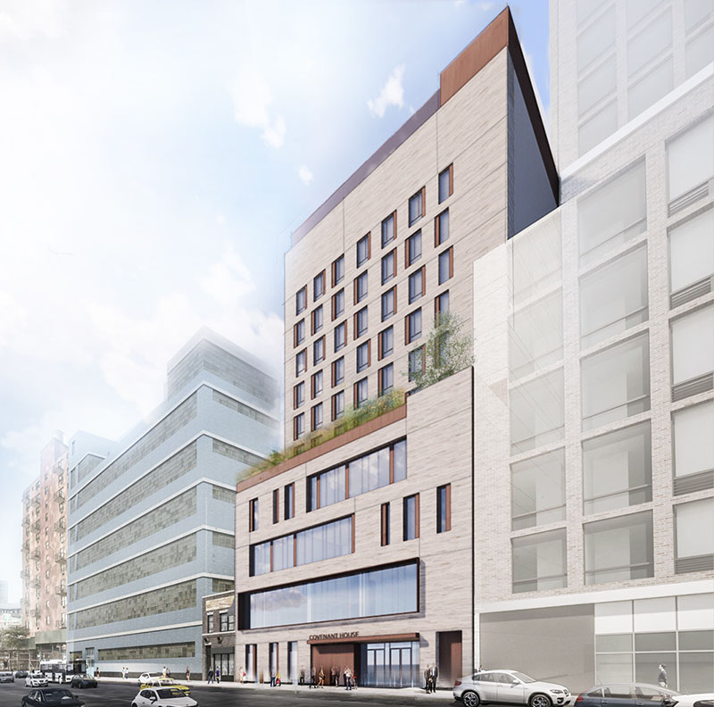 Covenant House Rendering - FXCollaborative