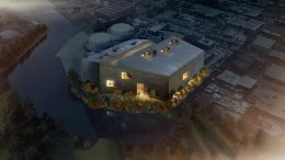 Rendering of Wildflower Studios via Bjarke Ingels Group and Wildflower Ltd