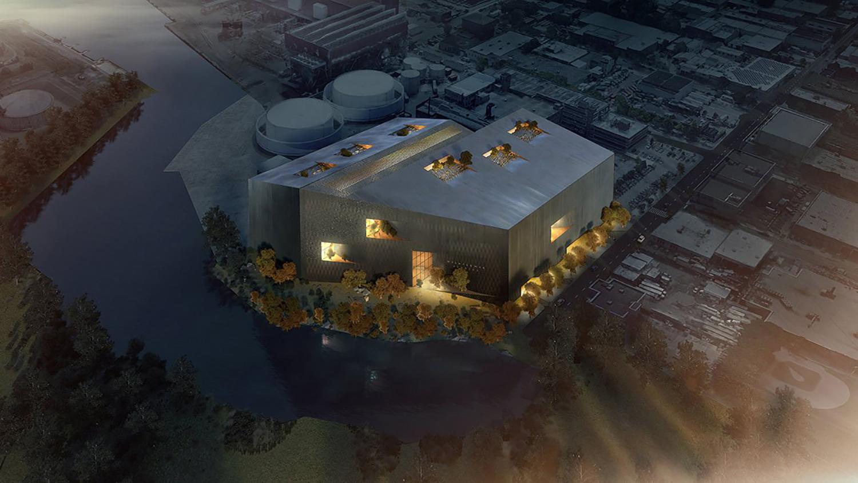 Rendering of Wildflower Studios - Bjarke Ingels Group; WF Industrial IV; Wildflower Studios Astoria