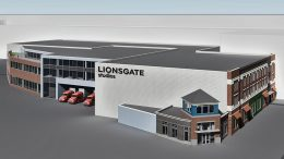 Rendering of Yonkers Studio via Lionsgate