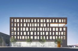 Rendering of 110 East 149th Street (Dattner Architects)