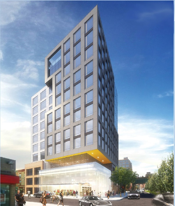 Rendering of 23-20 Jackson Avenue - KSQ Architects
