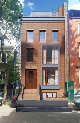 Rendering of 27 Cranberry Street - NY3 Design Group / Charles Schmitt Architects
