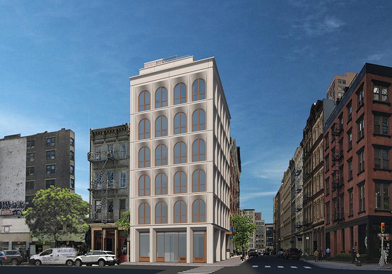 Updated Renderings of 31 Lispenard Street - GF55 Partners