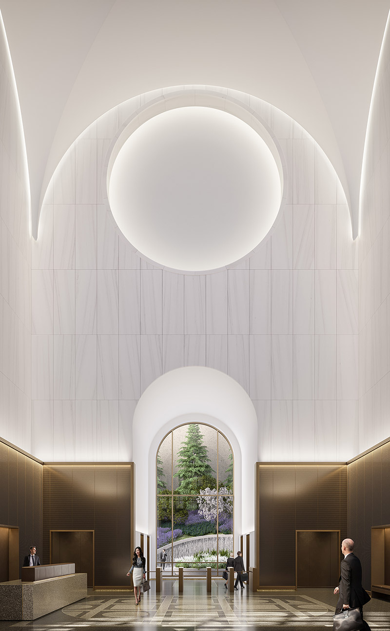 550 Madison Avenue Lobby - Gensler