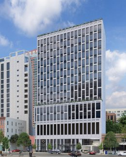 Rendering of 64 Centre Street - Richard Bienenfeld Architect