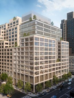Rendering of 555 Greenwich Street - COOKFOX Architects