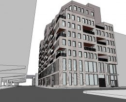 Preliminary renderings of 58 Vanderbilt Avenue (Photo: J Frankl Associates)