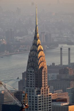 The Chrysler Building. Photo by Michael Young