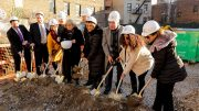 Samaritan Daytop Village and Manatus Development Group at the ground breaking ceremony for the new The Richard Pruss Wellness Center In The Bronx