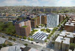 Rendering of Peninsula in The Bronx