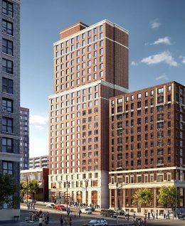 Rendering of 266 West 96th Street, courtesy of Fetner Properties