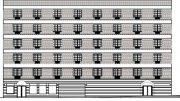 Diagram illustrates building elevations along Corona Avenue for 110-40 Saultell Avenue (Equity Environmental Engineering)