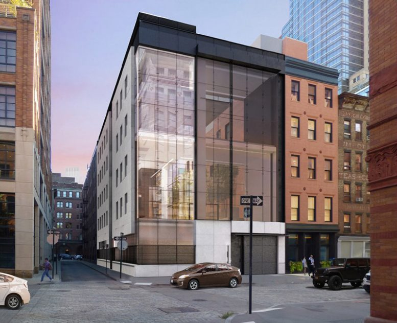 Rendering of 11 Hubert Street - E Cobb Architects
