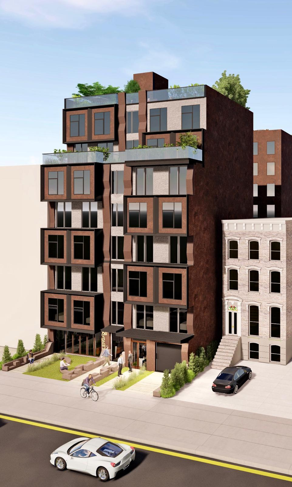 Rendering of 150 Lenox Road - BDF Designs