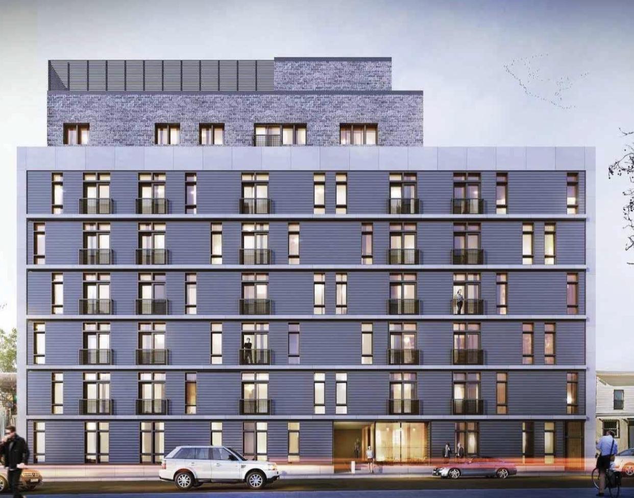 Rendering of 1663 East New York Ave - Frank J. Quatela Architect