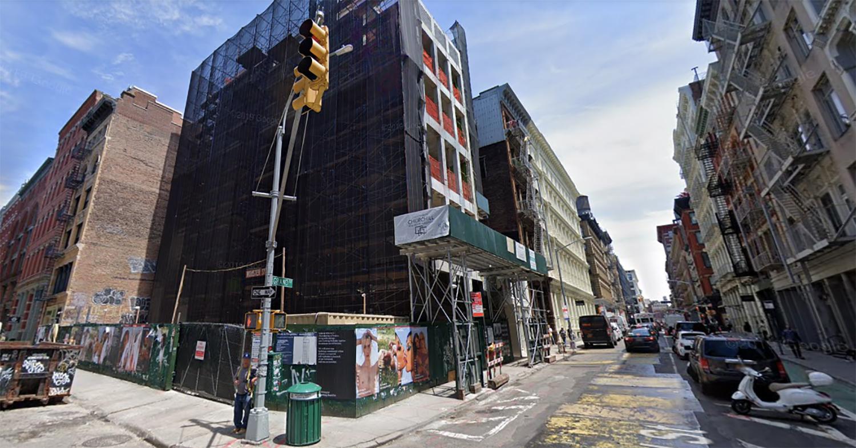 72 Grand Avenue in SoHo, Manhattan
