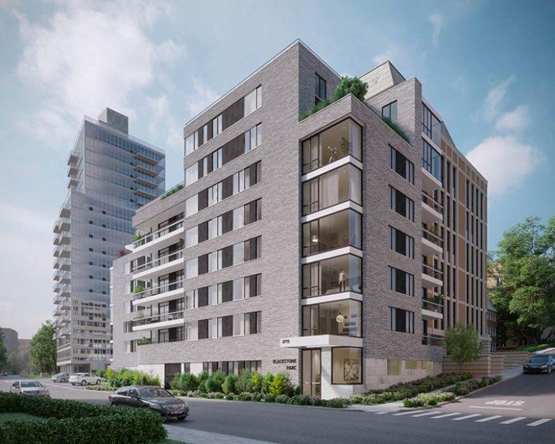 Rendering of Blacstone Parc - Building Studio Architects