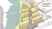 Preliminary Rendring of the Proposed Flushing Waterfront District