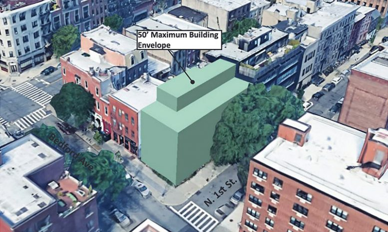 Preliminary rendering of 276 Bedford Avenue