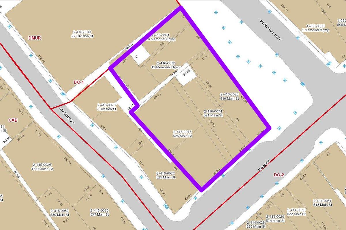 525 Main Street Site Assemblage - Main & Memorial Assemblage LLC