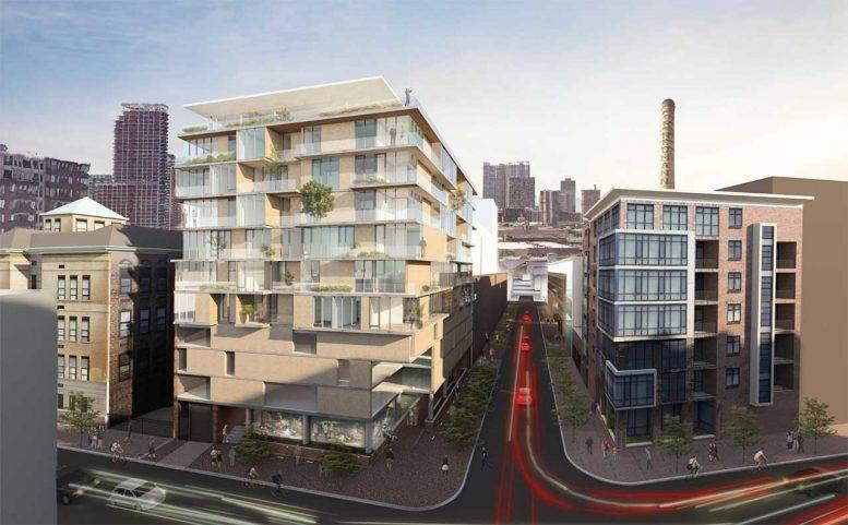 Rendering of 83 Willow Avenue - Nastasi Architects