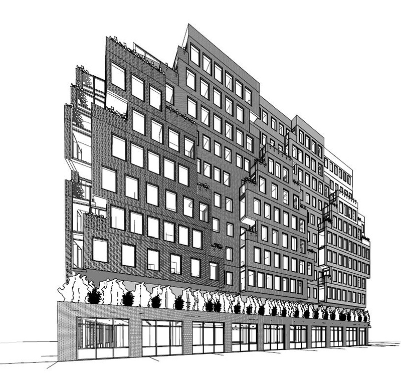 Rendering of 660-668 East Fordham Road - J Frankl Associates