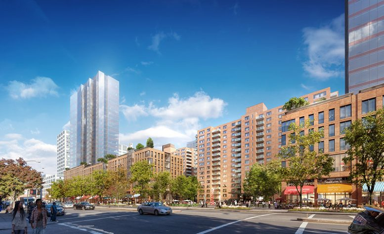 Rendering of Lenox Terrace following development - The Olnick Organization
