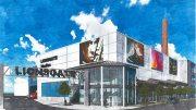 Rendering of the Lionsgate Studio Building